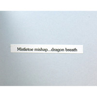 Mistletoe with Dragon and Purse Girl Card Project by Marylinn Kelly