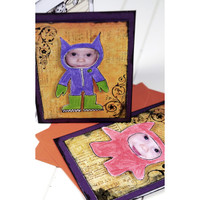 Master of Disguise Halloween Invitations or Greeting Cards Project