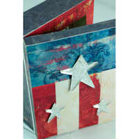 Americana Shadow Box Project by Sarah Meehan