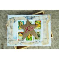 Christmas Joy Box Project by Audrey Hernandez