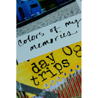 Colors of My Memories Art Journal Project