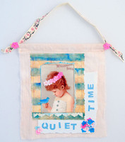 Quiet Time (Wall Hanging) Project
