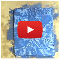 Plastic Wrap Painting Technique: How-To Video By Julia Andrus