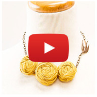 Creating Fabric Rosettes Video