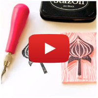 Stamp Carving Video