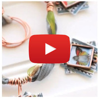 Charmed Ribbon Necklace Video By Johanna Love