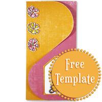 Interlocking, Three-Panel Card Template