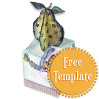 Pear Box Template