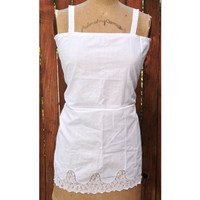 French Flea Market Undergarment Dress - B