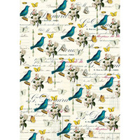 Cavallini & Co. Decorative Wrap - Flora & Fauna Birds 2