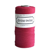 Divine Twine Baker's Twine — Solid Red