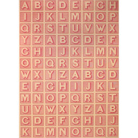 Alphabet ABC Decorative Wrap