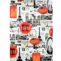 Cavallini & Co. Decorative Wrap - Paris Joyeux Noel