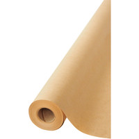 Natural Kraft Wrapping Paper Roll 36 x 100