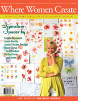 Where Women Create Spring 2013