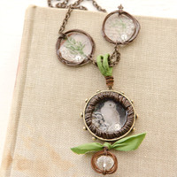 Rustic Charm Necklace Project by Johanna Love
