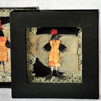 Quirky Halloween Birdy Project
