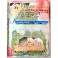 You are a Miracle Art Journal Inspiration Project