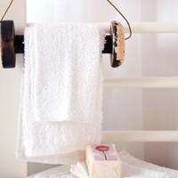 Vintage Spool Towel Holder