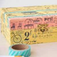 Vintage Washi Boxes Project
