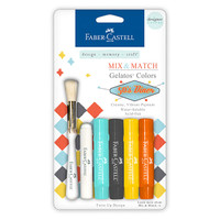 Faber-Castell Gelatos Mix and Match 50's Diner — 4 Pack