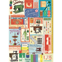 Cavallini & Co. Decorative Wrap — Vintage Sewing and Notions