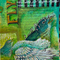 Fly Journal Page Project by Pam Carriker