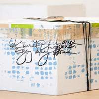 Mixed-Media Graffiti Box Project