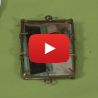 Working with Staple Bezels and Mica Video by Susan Lenart Kazmer