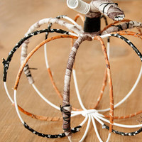 Wrapped Wire Pumpkin Project