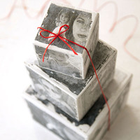 Instagram Wood Photo Blocks Transfer Project