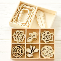 Wild for Wooden Embellishments Project by Christen Olivarez
