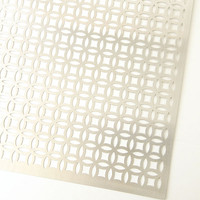 MD Metal Sheets 1 x 2' Aluminum Elliptical