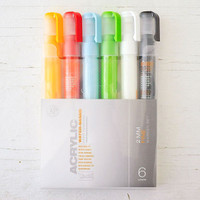 Montana Acrylic Paint Marker 2mm Set of 6 - Fine