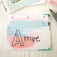 Mini Art Journal with Montana Paint Markers Project