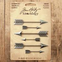 Advantus Tim Holtz Idea-ology Adornments Arrows — 6 Pack