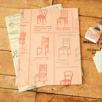 Cavallini & Co. Wrap Pack La Maison