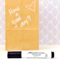 Faber-Castell Mix & Match Stamper's Big Brush Pen White