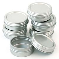 Flat Screw Top Tins 1/2 oz —œ Kit of 6