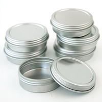 Flat Screw Top Tins 1 oz – Kit of 6