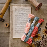 The Embroideress Bundle in Springtime