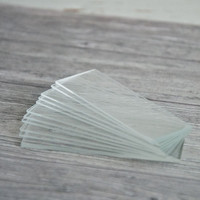 Glass Slides 1 x 3 — Pack of 10