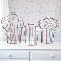 Wire Dress Forms — Set of 3
