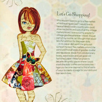 Collage Couture Studio Paper Dolls — Design, Collage, Cut and Play by Julie Nutting