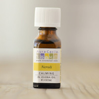 Aura Cacia Essential Oils, 0.5 fl oz —  Neroli (in Jojoba Oil)
