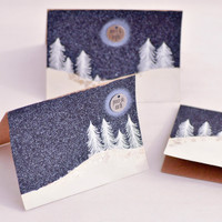 Silent Night Christmas Cards Project by Gabriela Perdomo