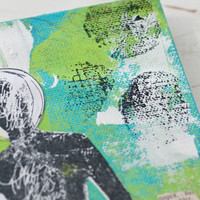 The Grungy Canvas — A Dina Wakley Inspired Project