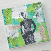 The Grungy Canvas— A Dina Wakley Inspired Project