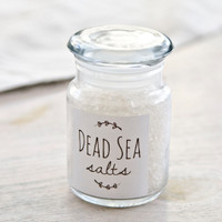 Dead Sea Salt — 4 oz Jar