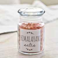 Pink Himalayan Salt — 4 oz Jar